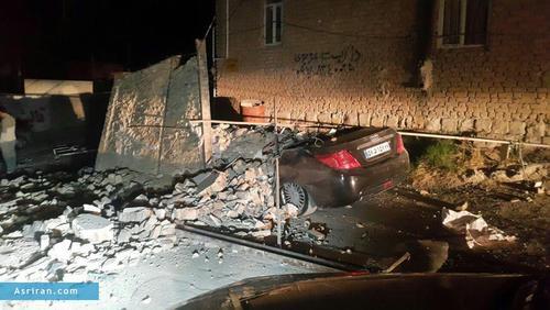 خسارات زلزله در سر پل ذهاب   کرمانشاه