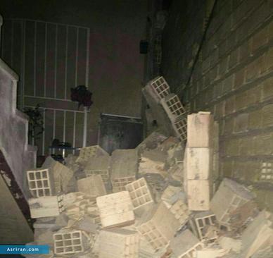 خسارات زلزله در گیلانغرب کرمانشاه