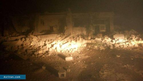 اولین تصاویر از خرابی زلزله در شهرستان سرپل ذهاب   کرمانشاه