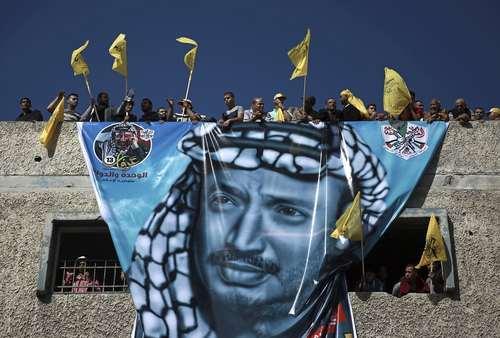 سیزدهمین سالمرگ یاسر عرفات رهبر سابق فلسطینی ها در باریکه غزه