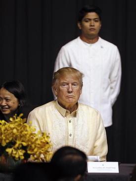 دونالد ترامپ در مراسم شام به افتخار پنجاهمین سالگرد تاسیس گروه