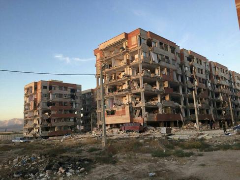 فاجعه مسکن مهر در زلزله کرمانشاه؟