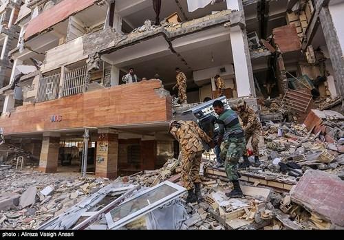 کرمانشاه داغدار (عکس نوشته ها و متن های حادثه زلزله  کرمانشاه)