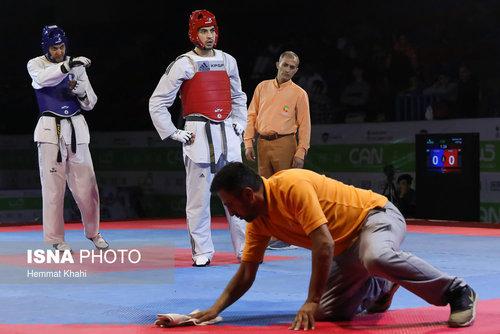 رقابتهای لیگ برتر تکواندو (عکس)
