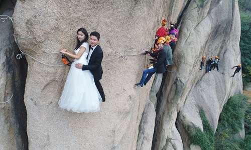 عکاسی عروسی ماجراجویانه – چین