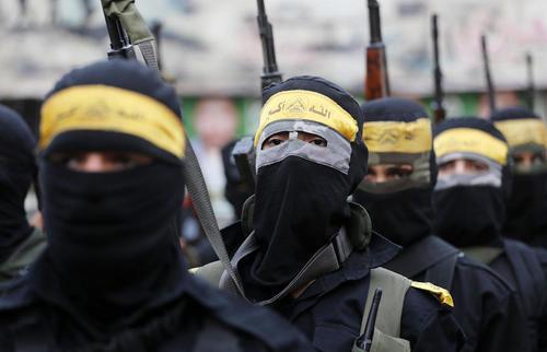 رژه نظامی در غزه