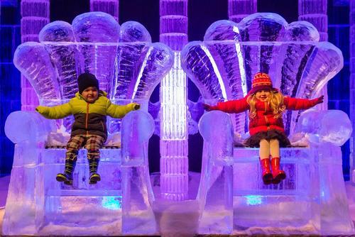 سرزمین عجایب یخی در هاید پارک لندن