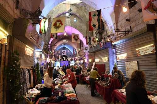 بازگشایی بازار تاریخی شهر حلب سوریه/ عکس:خبرگزاری فرانسه