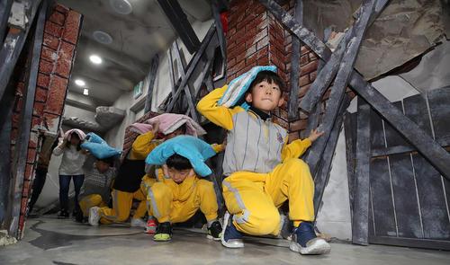 مانور آمادگی در برابر زلزله – سئول