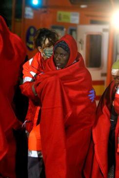 نجات 113 پناهجوی آفریقایی در سواحل اسپانیا