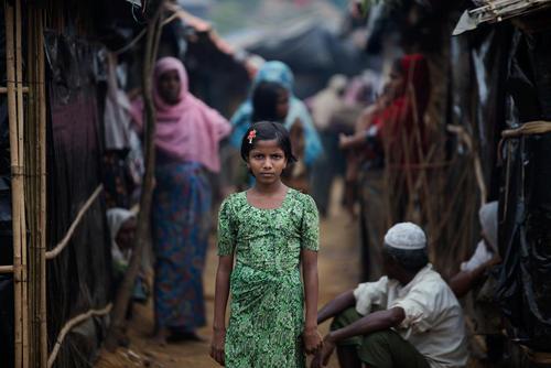 اردوگاه پناهجویان مسلمان میانماری در بنگلادش