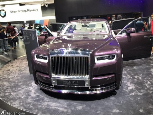 image تصاویری از جدیدترین خودروها در نمایشگاه دبی