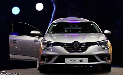 نمایشگاه خودرو تهران شهر آفتاب معرفی خودرو مشخصات مگان مشخصات فنی رنو مگان 2017 محصولات نگین خودرو قیمت رنو مگان 2017 Renault Megane