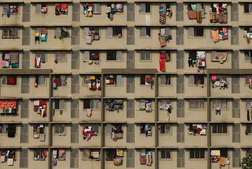 نمای ساختمانی در بمبئی هند