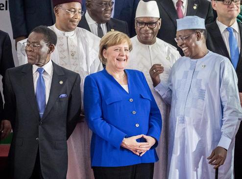 نشست مشترک رهبران آفریقا و اتحادیه اروپا در آبیجان ساحل عاج