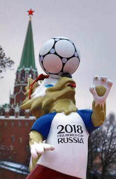 حال و هوای مراسم قرعه کشی تیم های فوتبال حاضر در جام جهانی 2018 روسیه در کنار کاخ کرملین در مسکو