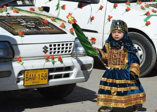 جشن میلاد نبی در کویته پاکستان