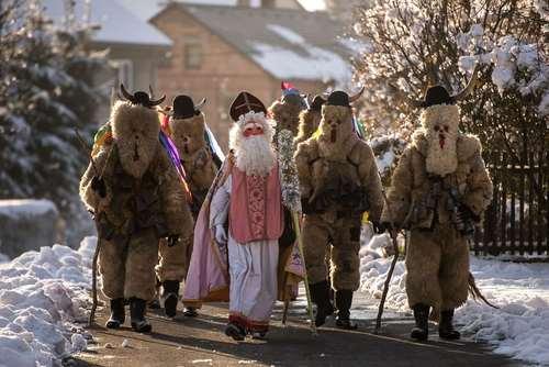جشنواره سالانه سنت نیکولاس در جمهوری چک