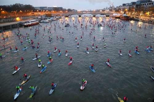 مسابقات سالانه پارو زدن در رود سن – پاریس