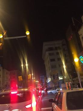 ترافیک در خیابان افریقا