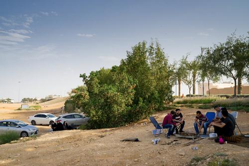 پارکی در داریه عربستان