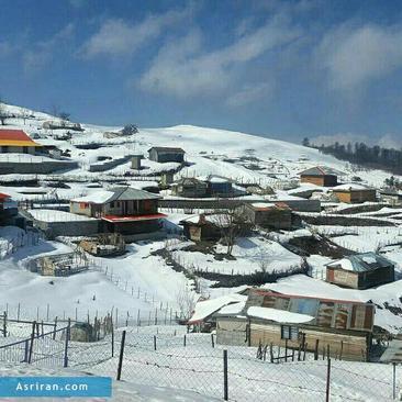 بارش برف در شهرستان خلخال- استان اردبیل- ثبت: فرهاد شکارچی