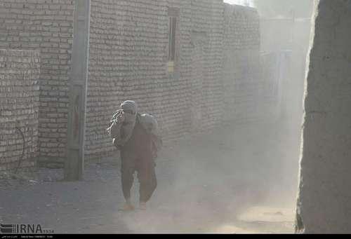 شن های روان در منطقه سیستان و بلوچستان