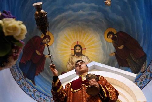 مراسم سالروز تولد حضرت مسیح در کلیسای ارامنه