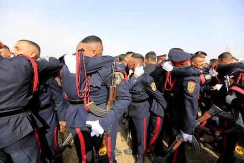 جشن فارغالتحصیلی کادر ارتش عراق – بغداد