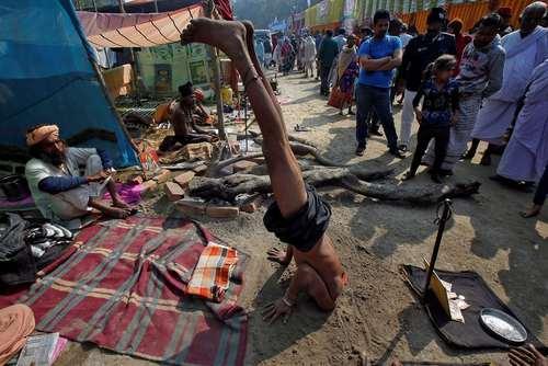 نمایش خیابانی در کلکته هند