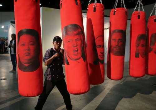 نمایشگاه هنر در لسآنجلس آمریکا