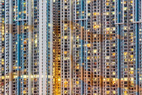 برجهای مسکونی جزیره ماکائو در جنوب چین/ عکس روز وب سایت