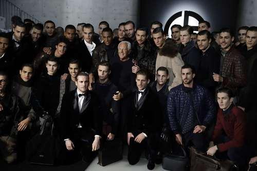 عکس یادگاری مدل های مرد برند لباس