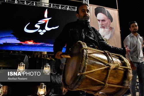مراسم یادبود خدمه کشتی سانچی در بوشهر (عکس)