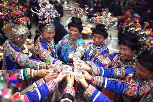 جشنواره آیینی سنتی اقلیت قومی