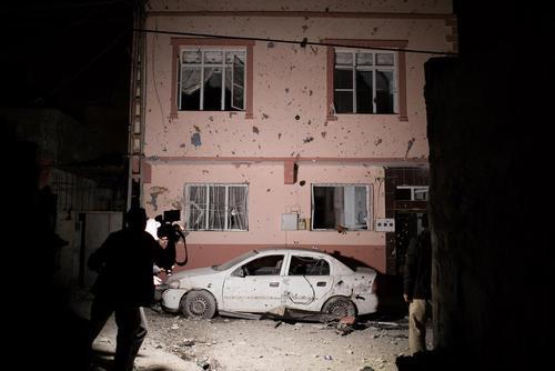 اصابت 4 راکت از خاک سوریه به شهر کیلیس در مرز ترکیه با سوریه در پاسخ به حملات هوایی و توپخانه ای ترکیه به شهر عفرین در سوریه