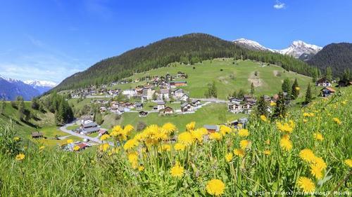 آلکساندر اشپنگلر، پزشک آلمانی که به دلایل سیاسی به سوئیس مهاجرت کرده بود در سال ۱۸۵۳ میلادی پی برد که هوای ییلاقی منطقه داووس تاثیر بسیار مثبتی بر روی بیماران ریوی و مبتلا به آسم دارد. دو سال بعد اولین آسایشگاه تاسیس شد و بهمرور زمان هتلهای بسیاری احداث شد که میزبان بیماران شدند.