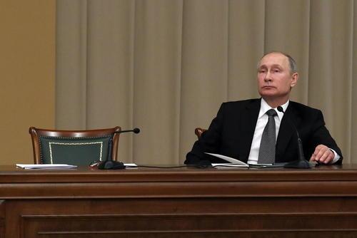 پوتین در مراسم نودوپنجمین سالگر د تاسیس نهاد قضایی