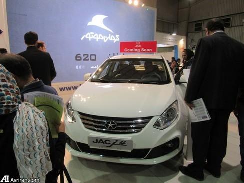 خودروی جک جی 4 که به زودی به بازار عرضه می شود