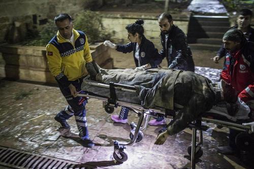 حمله موشکی به مسجدی در شهر مرزی کیلیس ترکیه