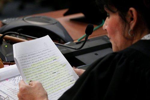 قاضی دادگاه