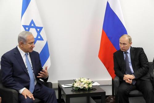 دیدار پوتین و نتانیاهو در مسکو- عکس: ایتارتاس