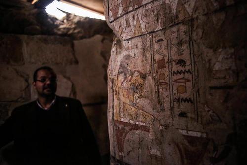 کشف یک مقبره جدید 4 هزار ساله در نزدیکی اهرام مصر که مدفن به یک راهبه مصر باستان است.