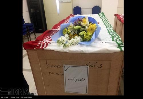 انتقال پیکر3 تن از دریانوردان نفتکش سانچی به ایران