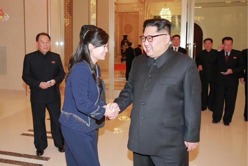 دیدار رهبر کره شمالی با