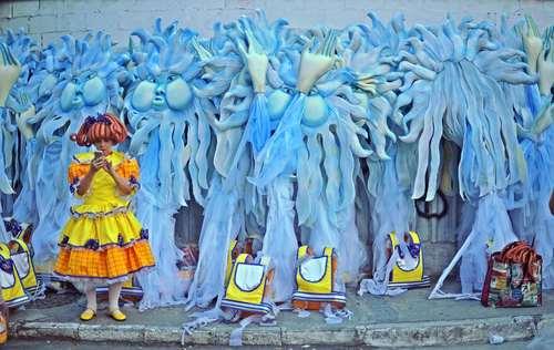 کارناوال سالانه در ریودوژانیرو برزیل