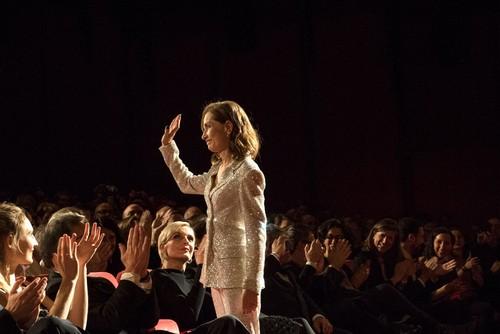 ایزابل هوپر بازیگر فیلم «ایوا» در جشنواره برلین