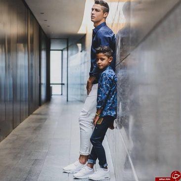 ورود پسر رونالدو به دنیای مد (+عکس)