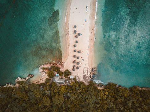 تصویری هوایی از ساحل جزیره بونگویو در کشور تانزانیا/ عکس روز وب سایت