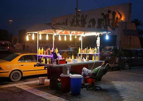 میدان تحریر بغداد- عکس: آسوشیتدپرس
